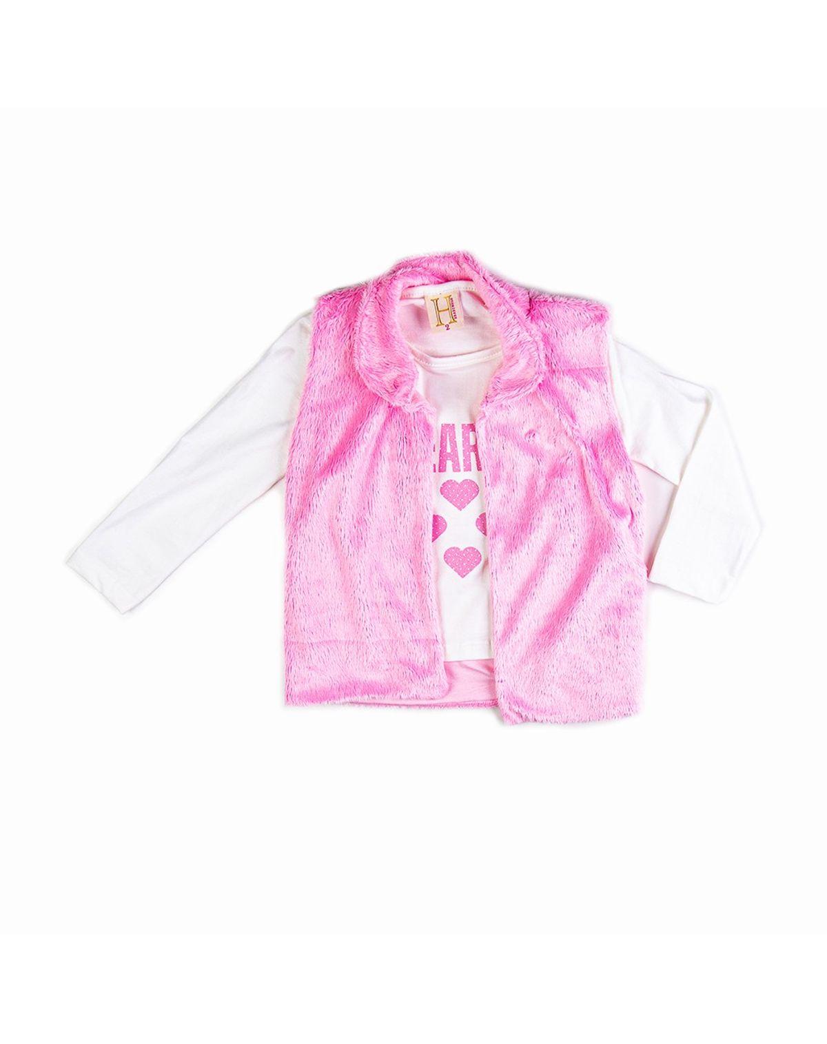 439020349001-Kit-Infantil-Menina-com-Camiseta-Manga-Longa-e-Coleto-de-Pelo-OFF-WHITE-ROSA-1-1