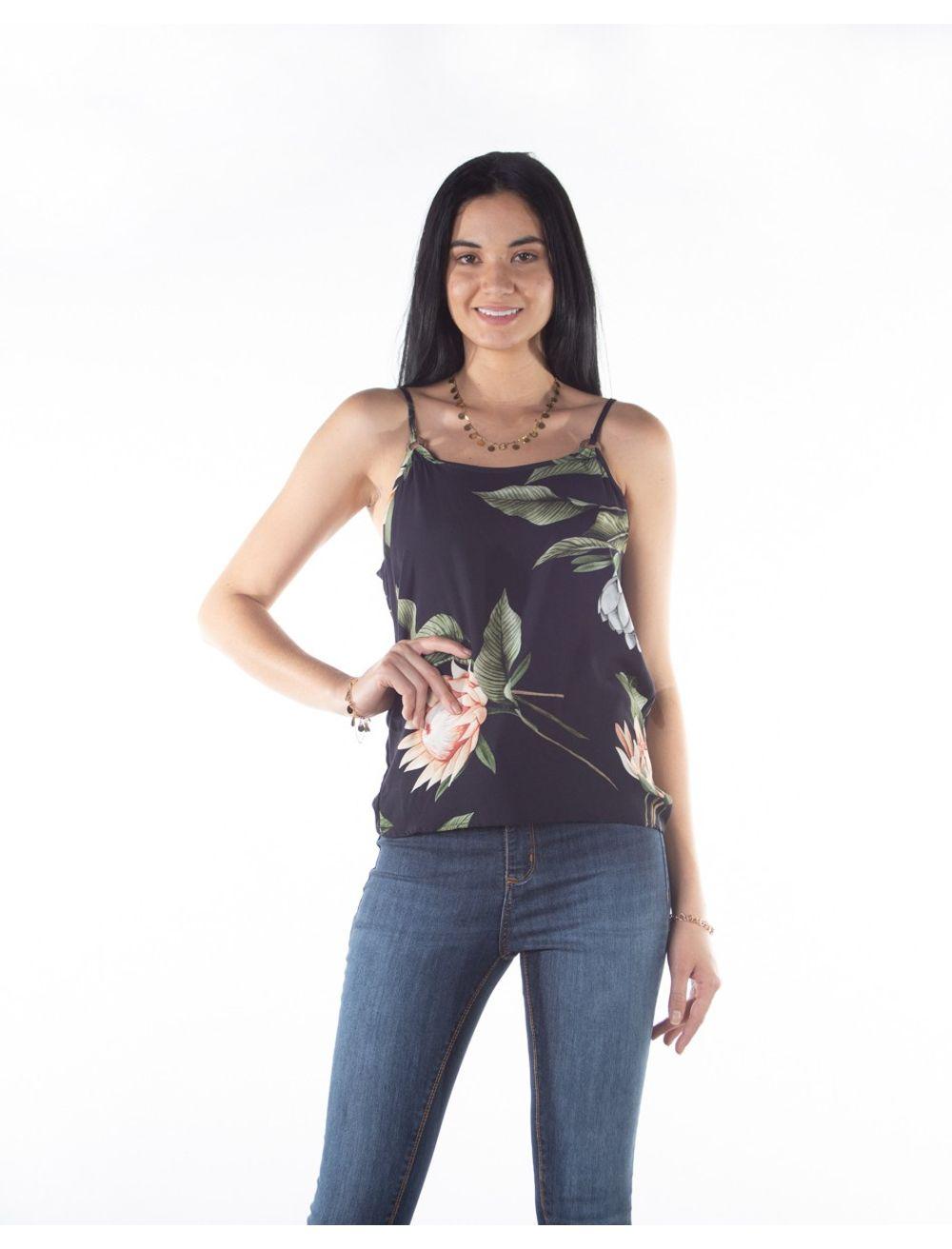 2050005729428-Blusa-Alcas-Finas-Feminina-Estampa-Flores-PRETO-G-1