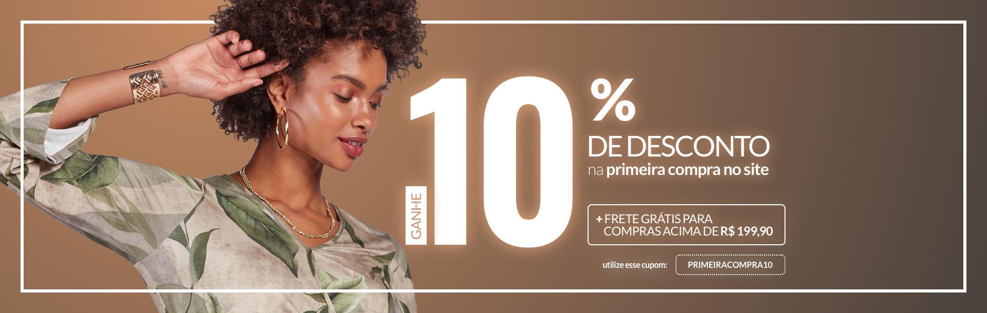 10% primeira compra