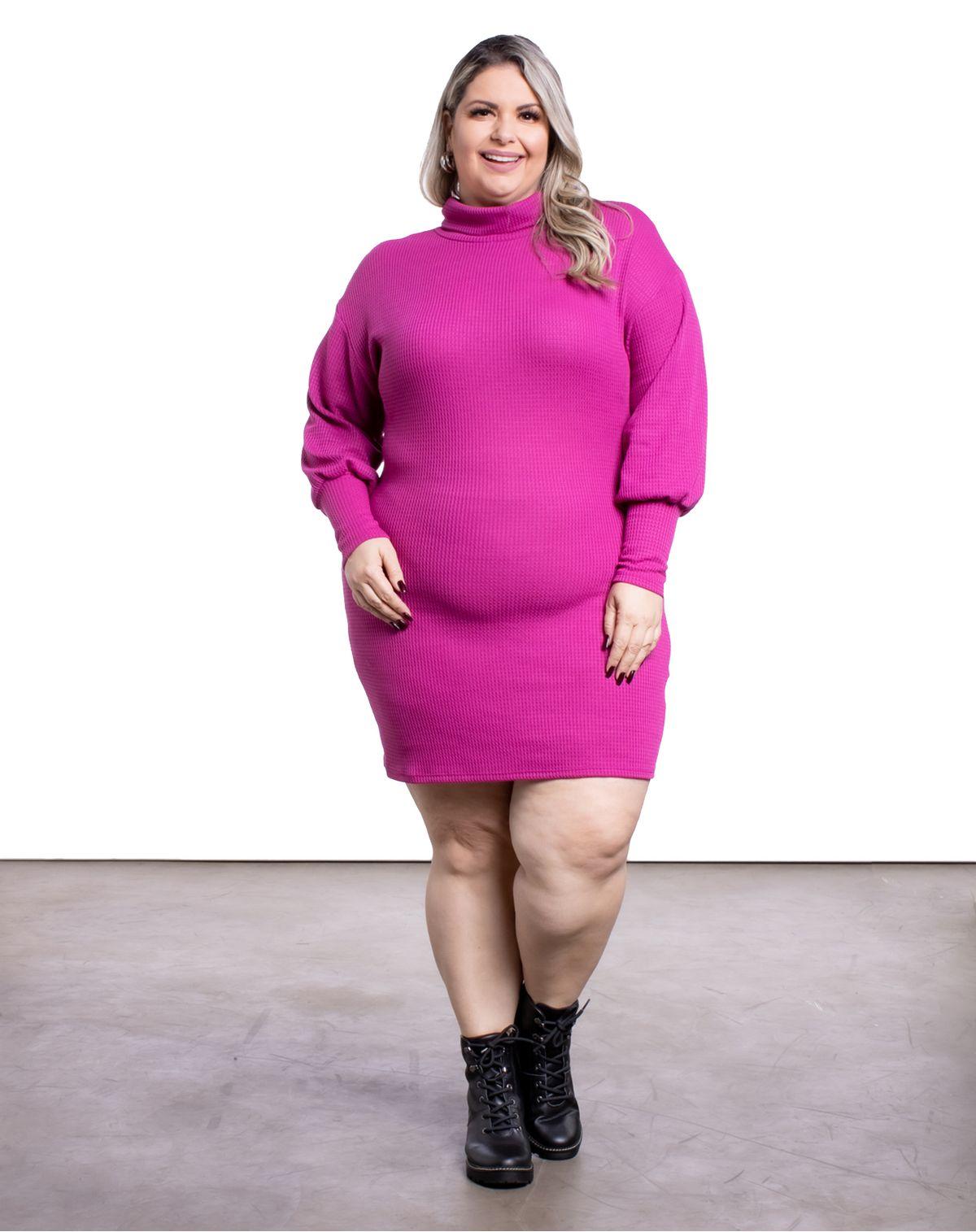 587799002-vestido-curto-plus-size-malha-manga-longa-feminino-pink-g2-96b